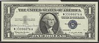 Fr.1621, 1957B $1 Silver Certificate, Courtesy Autograph of Kathryn O'Hay Granahan