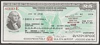 United States Savings Bond, Series E, 02/1979 $25, Washington