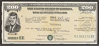 United States Savings Bond, Series EE, 10/1980 $200 JFK