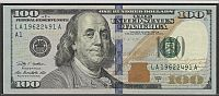 """Birthday Note"" 2009A $100 Boston FRN, LA1962 2491A, XF"