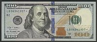 2009A $100 NY Star Note, Birthday Year 1957 (LB06941957*)