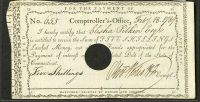 1789 Connecticut 5s Interest Note VF/XF