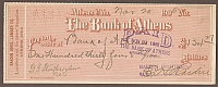 Athens, Ohio, 1905, The Bank of Athens