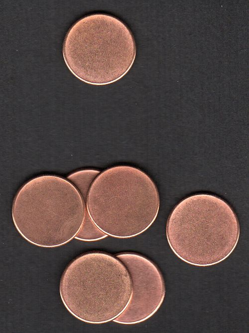 Lincoln Cent Error - Blank Planchet, BU