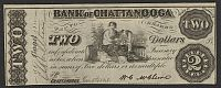 Chattanooga, TN, 1863 $2 Bank of Chattanooga, PMG-58