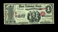 East Liverpool, OH, Ch.2146, Serial Number 1, Original One Dollar, PMG-50(200).jpg