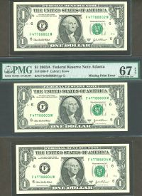 Fr.1930-F 2003-A $1 FRN F47788803M Missing 1st Printing PMG-67 bookends(200).jpg
