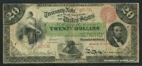 Fr.0197a, 1864 $20 Interest Bearing Note