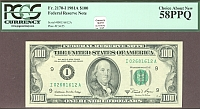 Fr.2170-I, 1981A $100 Minneapolis FRN, Very Choice AU, PCGS58-PPQ