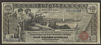 "Fr.225, 1896 $1 ""Educational"" Silver Certificate, VF, 41738124"