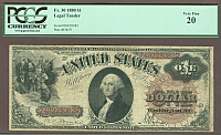 Fr.30, 1880 $1 Legal Tender Note, VF