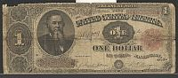 Fr.351, 1891 $1 Treasury Note, B44508238, G