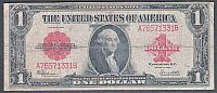 Fr.40, 1923 $1 Legal Tender Note, Choice Fine