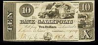Gallipolis, OH 1839 $10 Bank of Gallipolis, 1072