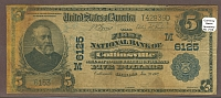 Collinsville, IL, 1902PB $5, Charter #6125, First National Bank