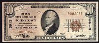 Johnstown, PA, Ch.#5913, 1929T1 $10, United States National Bank, VF, A006905A