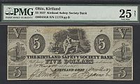 Kirtland, OH, The Kirtland Safety Society Bank $5, March 9, 1837 [Mormon Note]