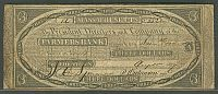 Belchertown, Massachusetts, MA-75; G12,  August 15, 1827 $3 Farmers Bank, VF, 852
