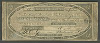 Belchertown, Massachusetts, MA-75; G8,  August 15, 1827 $2 Farmers Bank, VF, 931