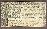 Maryland $6, April 10, 1774, XF