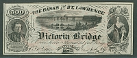 Montreal, Victoria Bridge, G.T. Railway, Advertising Note