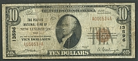 New Lexington, OH, The Peoples NB, Charter #135961929T1 $10