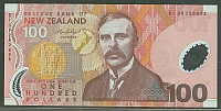 New Zealand, P-189b (New Variety) 2006 $100 (polymer) Note, GemCU
