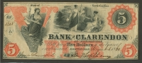 Fayetteville, NC, Bank of Clarendon, $5