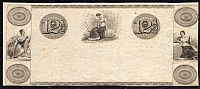 One-Bit Banknote Printers Example, Early 19th Century, vCh.AU