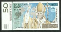 Poland - 2006 50Z, Pope John Paul II Commemorative Note