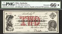 Sandusky, OH, Nes Silicon Steel Co., 187_ $2 Remainder, PMG66-EPQ*