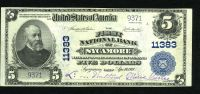 Sycamore, OH, Ch.#11383, 1902PB $5, XF