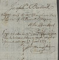US-100;PA-10A Francis Hopkinson Signed 3rd Bill of Exchange, $120 2-1-1779, PMG-45(b-Vert)(200).jpg