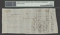 US-100;PA-10A Francis Hopkinson Signed 3rd Bill of Exchange, $120 2-1-1779, SN359, PMG-45(b)(200).jpg
