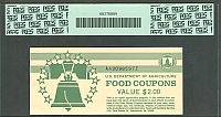 USDA Food Coupon, Series 1996B $1, A43098597Z, PCGS64-PPQ(b)(200).jpg