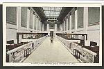 Youngstown, OH, Charter #3, First NB Building Interior Photo Postcard, New
