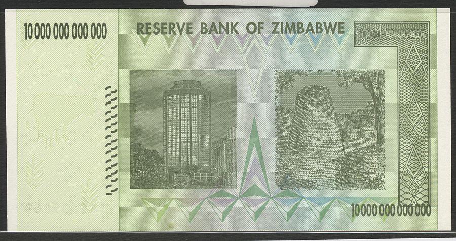 Zimbabwe 2008 Ten Trillion Dollars Aa4139068 B 175 Jpg